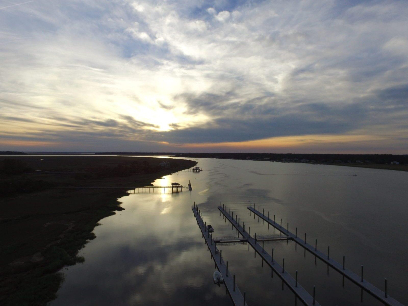 South Harbor Marina Drone Footage
