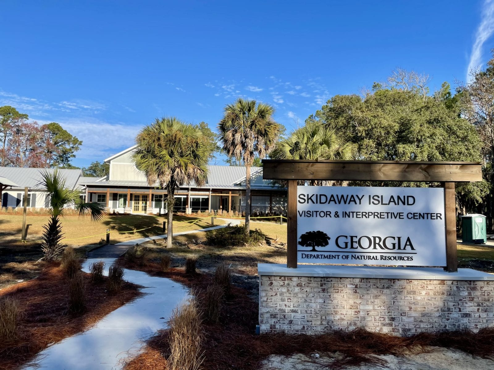 New Welcome Center Skidaway State Park