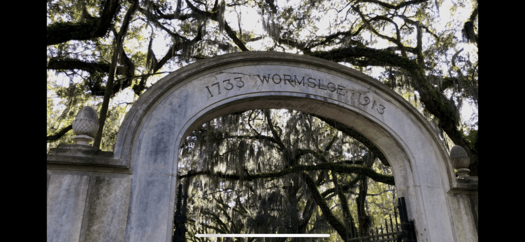Wormsloe Moon River District