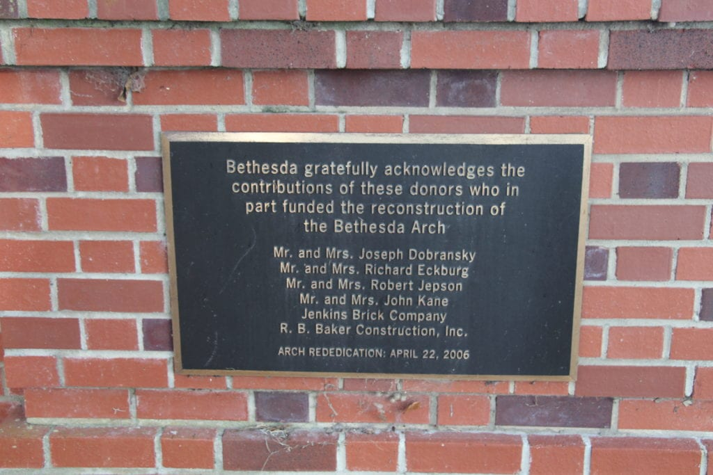 Bethesda Academy Sign