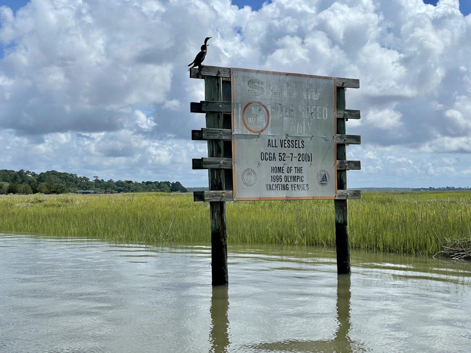 No Wake Zone Isle of Hope